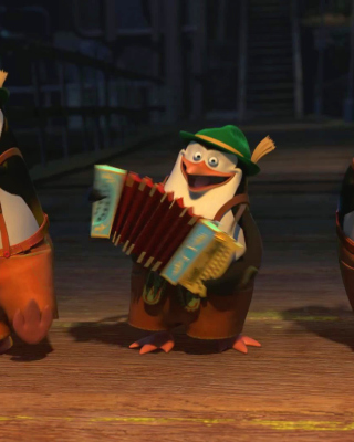 Skipper, Kowalski, and Rico, Penguins of Madagascar - Obrázkek zdarma pro Nokia C3-01 Gold Edition