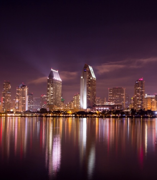 San Diego Skyline Picture for Nokia C1-01