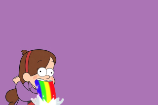 Mabel in Gravity Falls Wallpaper for Android, iPhone and iPad