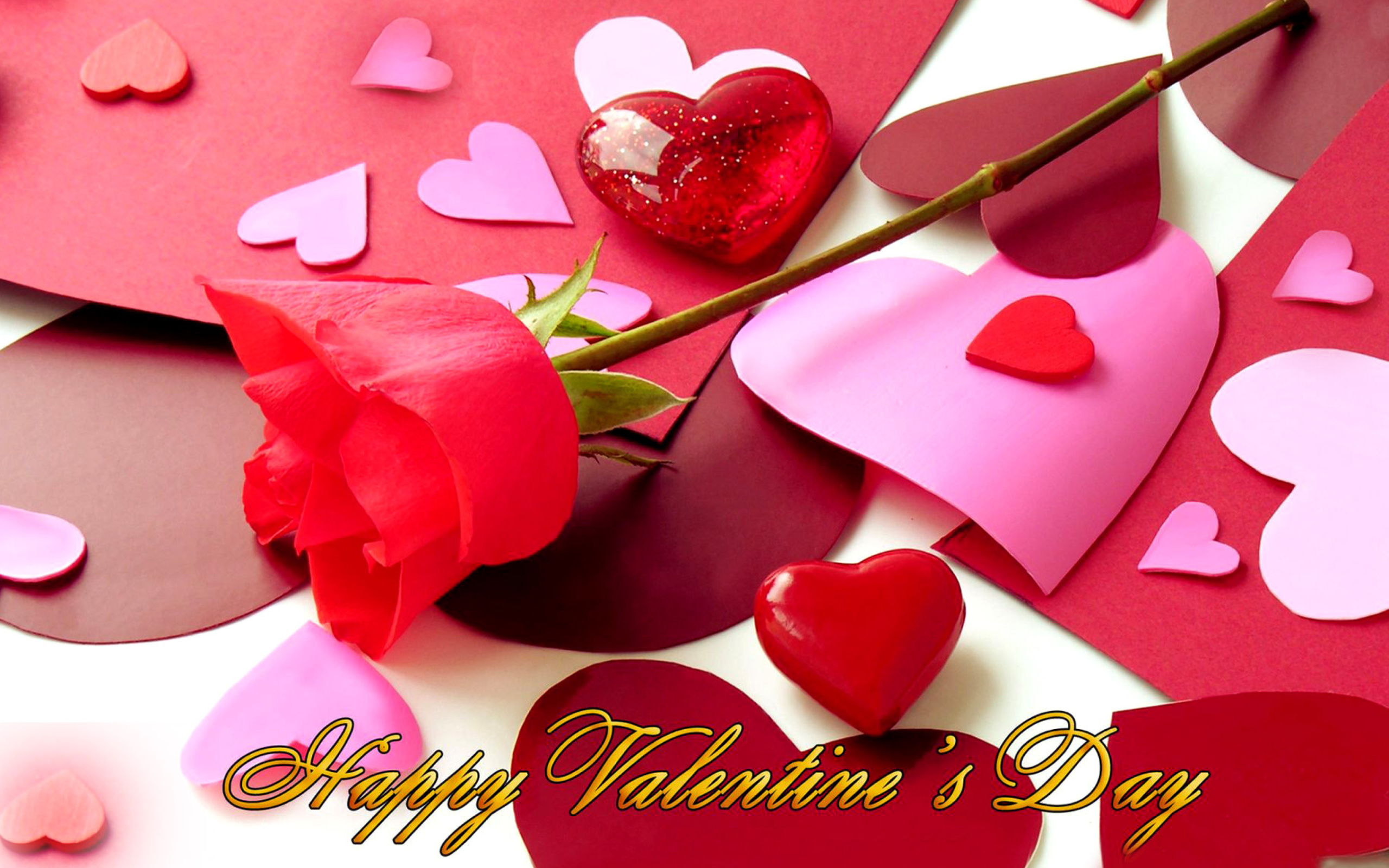 Happy Valentines wallpaper 2560x1600