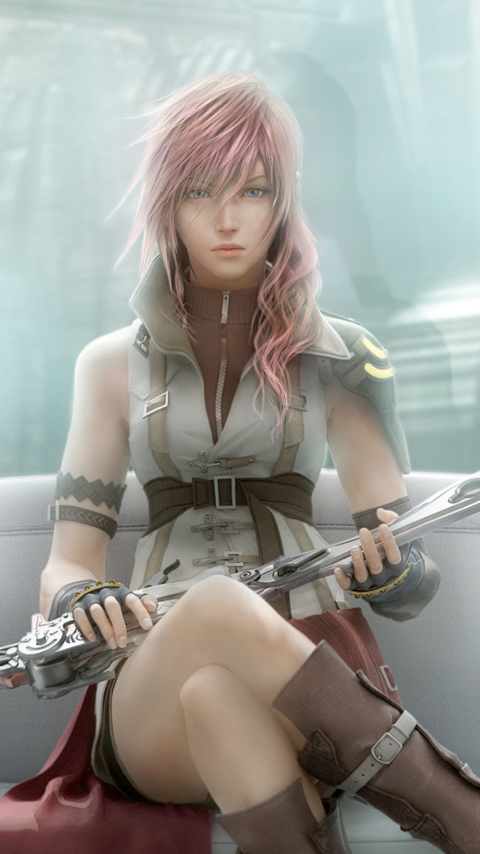 Screenshot №1 pro téma Final Fantasy Xiii 480x854