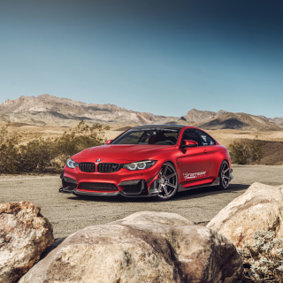 BMW M4 Red - Fondos de pantalla gratis para iPad Air