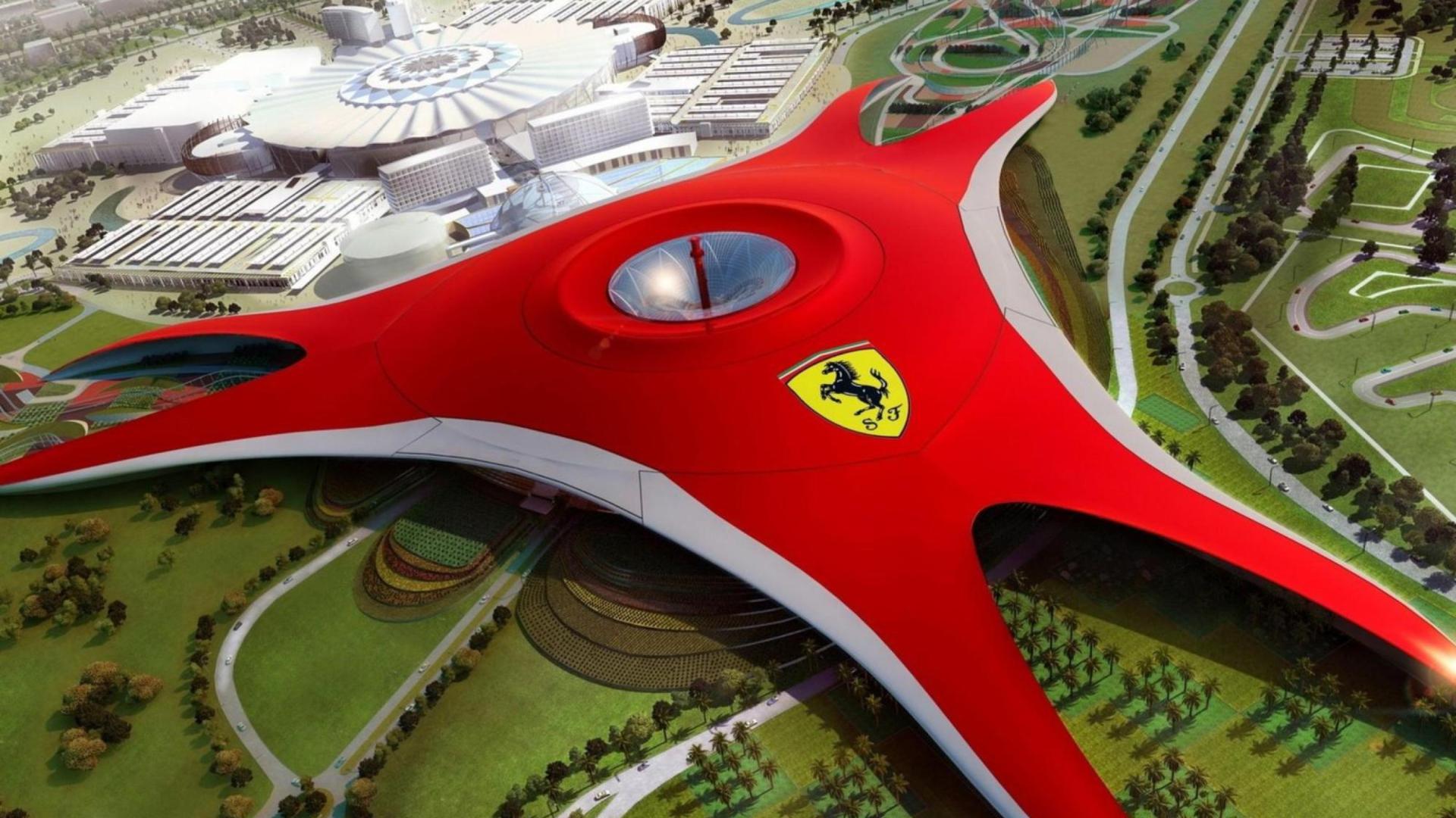 21+ Dubai Ferrari World Wallpaper  PNG