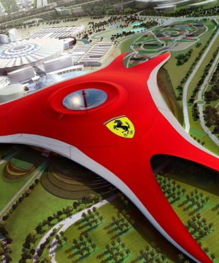 Ferrari World Abu Dhabi - Dubai Wallpaper for HTC Titan