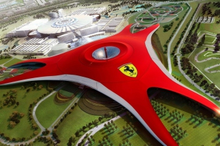 Ferrari World Abu Dhabi - Dubai Background for Android, iPhone and iPad