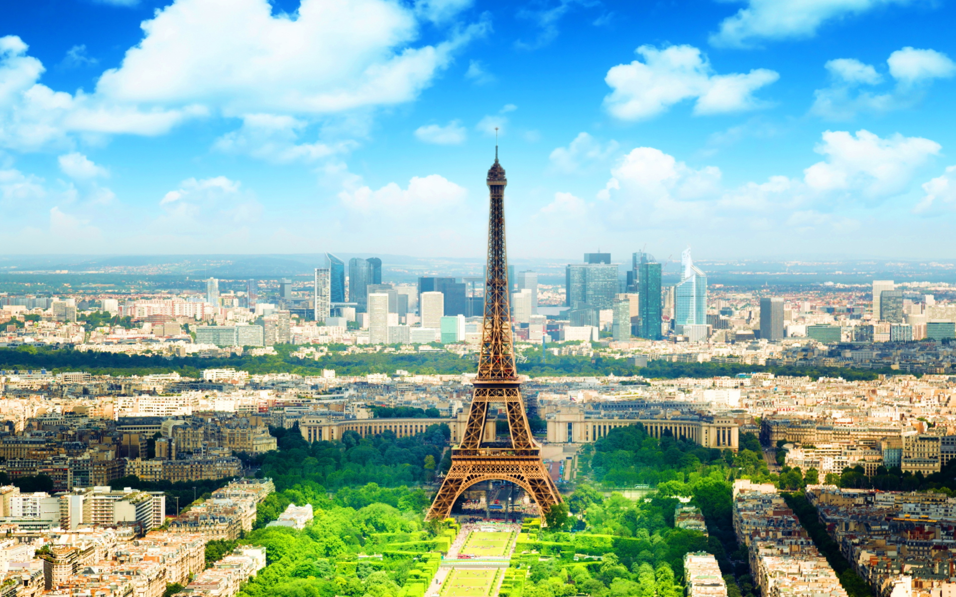 Paris In Summer para Widescreen Desktop PC 1920x1080 Full HD