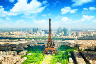 Paris In Summer Wallpaper for Android, iPhone and iPad