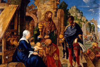 Free Albrecht Durer Adoration of the Magi Picture for Android, iPhone and iPad