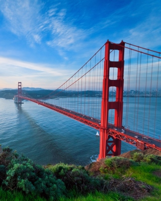 San Francisco, Golden gate bridge Wallpaper for iPhone 5