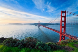 San Francisco, Golden gate bridge sfondi gratuiti per 1200x1024