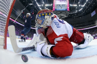 Usa Russia Hockey Olympics Wallpaper for Android, iPhone and iPad