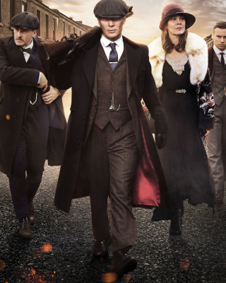Peaky Blinders Tv Series Wallpaper for Nokia Asha 306