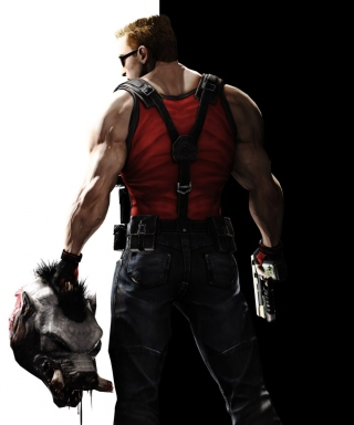 Duke Nukem Forever Background for 480x640