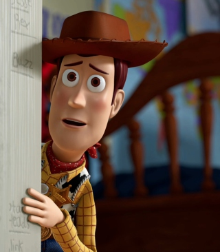 Toy Story - Woody sfondi gratuiti per iPhone 4S
