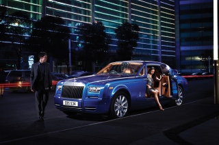 Rolls Royce Phantom Wallpaper for Android, iPhone and iPad