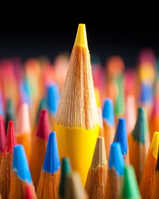 Colored pencils Wallpaper for Nokia Lumia 1020
