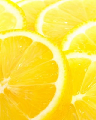 Macro Lemon sfondi gratuiti per iPhone 6 Plus