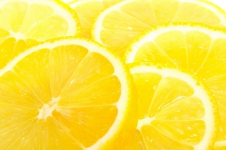 Macro Lemon Background for Android, iPhone and iPad