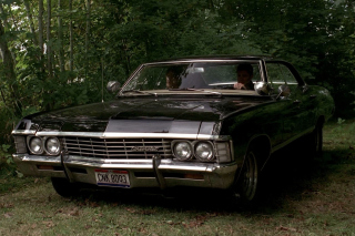 Free 1967 Chevrolet Impala Picture for HTC Wildfire