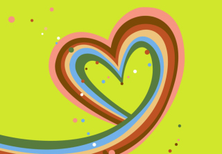 Valentine Heart Background for Android, iPhone and iPad