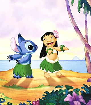 Free Walt Disney Lilo Stitch Picture for Nokia C2-03