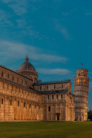 Fondo de pantalla Pisa Cathedral and Leaning Tower 320x480