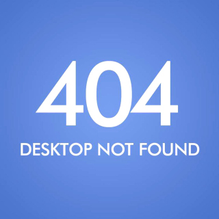404 Desktop Not Found Wallpaper for iPad Air