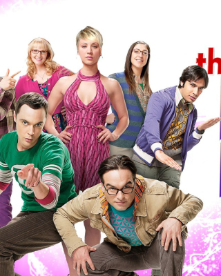 Free The Big Bang Theory Picture for Nokia Asha 306
