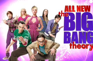 The Big Bang Theory sfondi gratuiti per 480x400