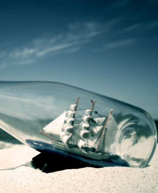Ship In A Bottle - Fondos de pantalla gratis para 768x1280