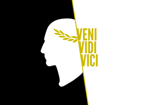 Veni Vidi Vici Wallpaper for Android, iPhone and iPad