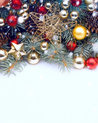 Merry Merry Christmas! Wallpaper for Nokia Asha 306