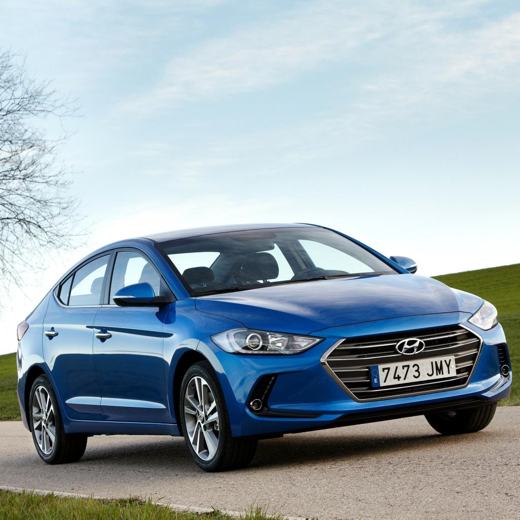 Hyundai Elantra Fondos De Pantalla Gratis Para 1024x1024