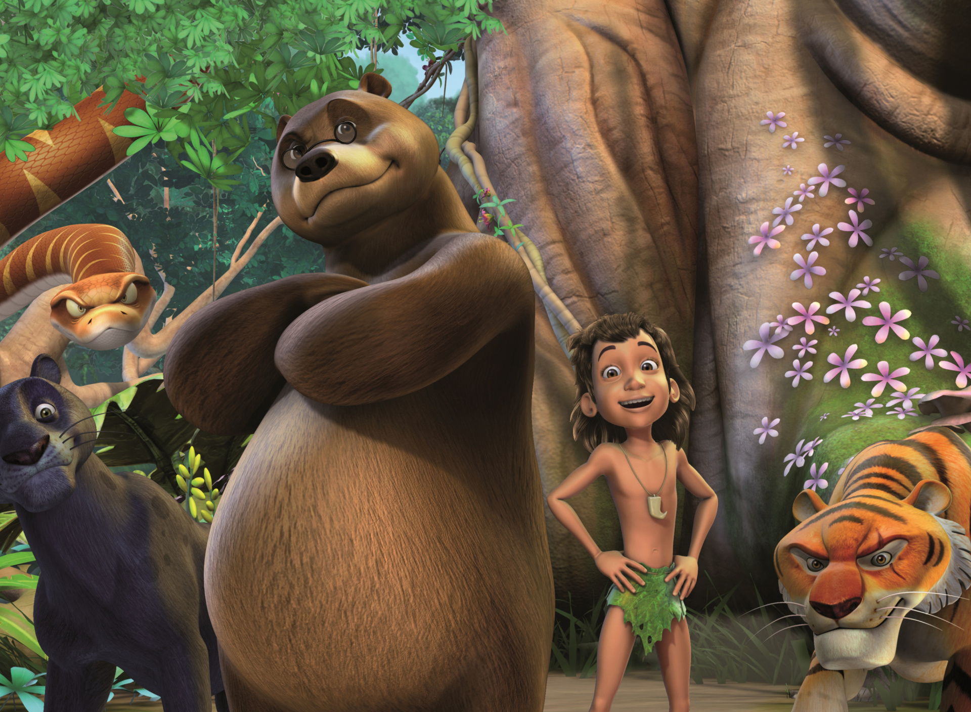 Sfondi The Jungle Book 1920x1408