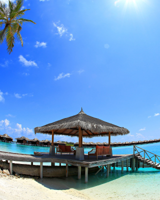 Luxury Bungalows in Maldives Resort sfondi gratuiti per Nokia Lumia 925