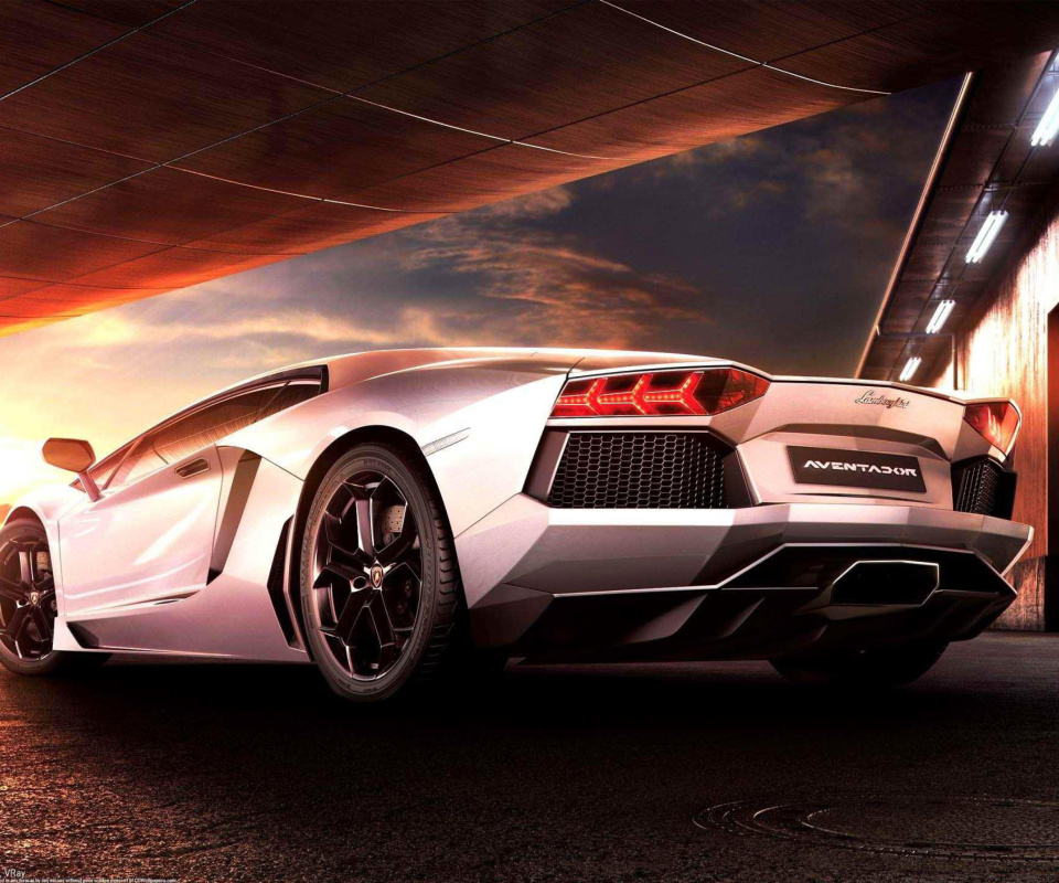 Lamborghini Aventador LP 700 4 HD wallpaper 960x800