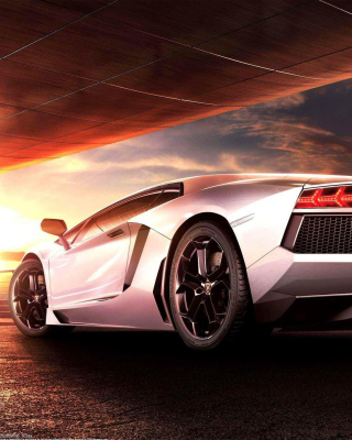 Lamborghini Aventador LP 700 4 HD Wallpaper for Nokia Asha 306