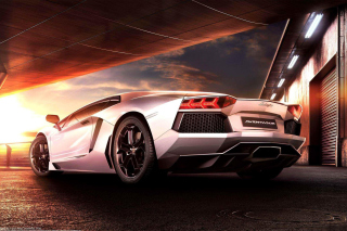Lamborghini Aventador LP 700 4 HD Background for Samsung Galaxy S4