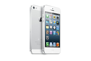 New White iPhone 5 Picture for Android, iPhone and iPad