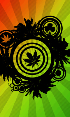 Marijuana - Fondos gratis para LG KP500 de VividScreen