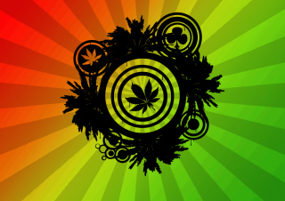 Marijuana Background for 1280x960