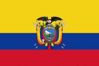 Ecuador Flag Wallpaper for Android, iPhone and iPad