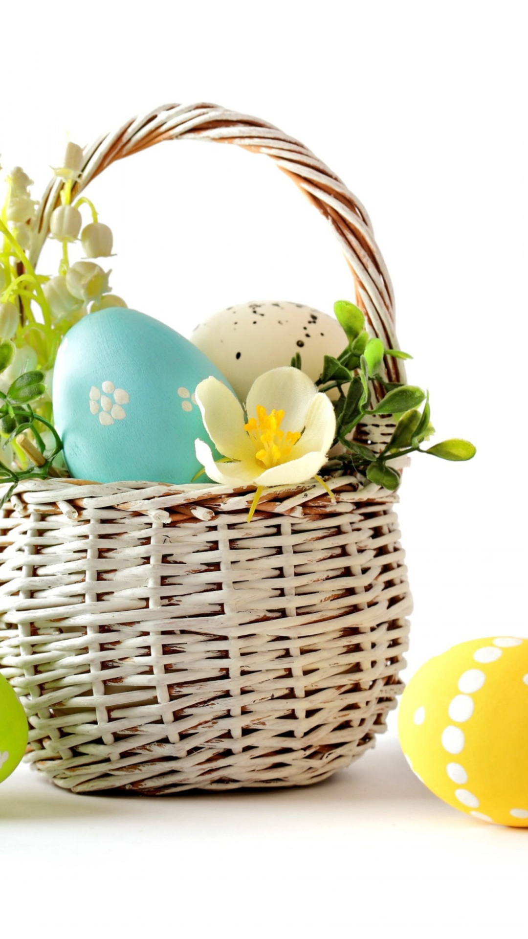Easter Basket wallpaper 1080x1920