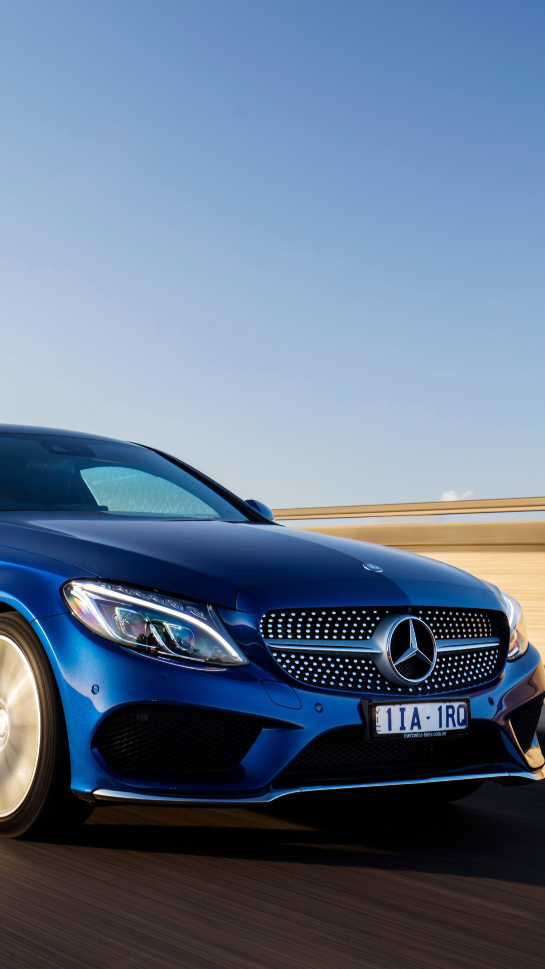 Mercedes Benz C Class Coupe W21 Wallpaper for iPhone 21 Plus