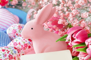 Pastel Easter Decoration Wallpaper for 1920x1200