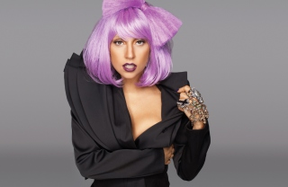 Lady Gaga Crazy Style Picture for Android, iPhone and iPad