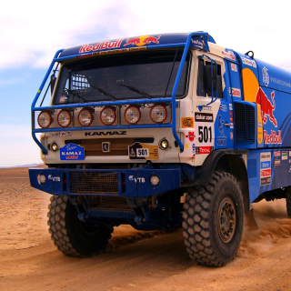 Kamaz Dakar Rally Car sfondi gratuiti per iPad Air