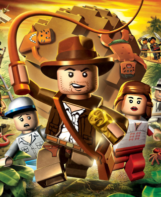 Lego Indiana Jones Picture for Nokia Asha 305