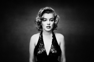 Free Marilyn Monroe Monochrome Picture for Android, iPhone and iPad