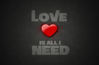 Kostenloses Love Is All I Need Wallpaper für Google Nexus 7